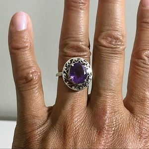 Boutique | Vintage Amethyst Ring